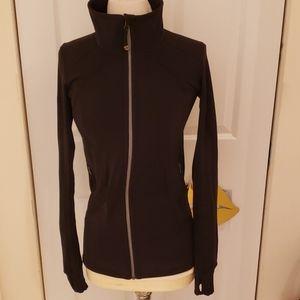 Lululemon Black Scuba Jacket in size 4